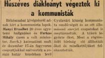 Az emigráns magyar lap kissé túlzó beszámolója